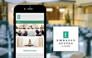 Embassy Weddings Website