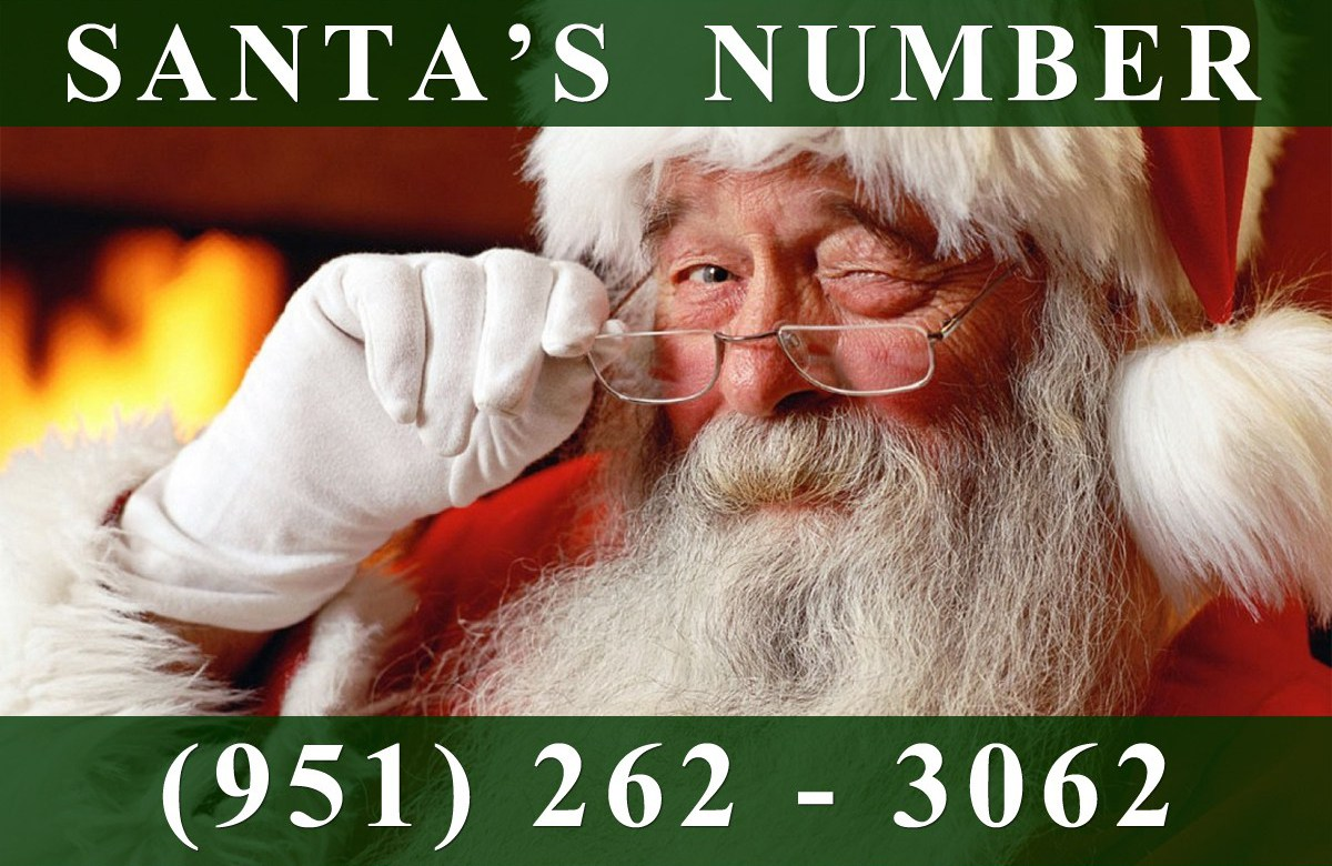 Phone Number for Santa Claus