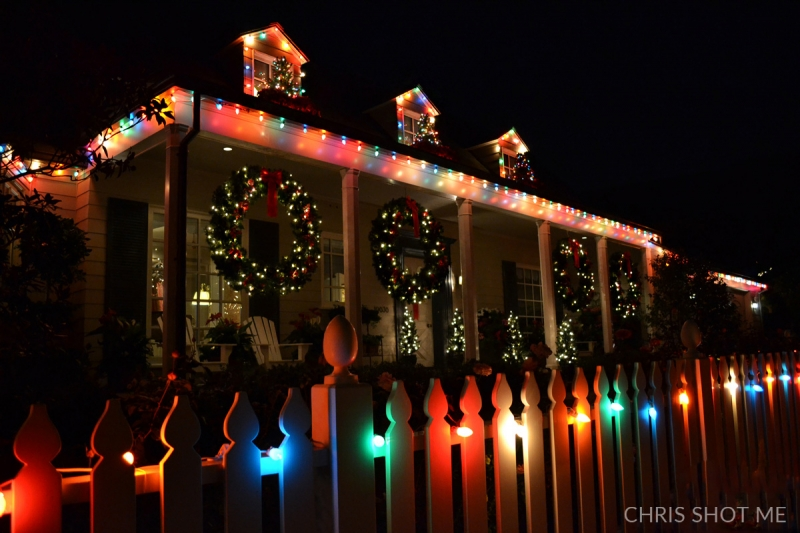 Toluca Lake Christmas Lights